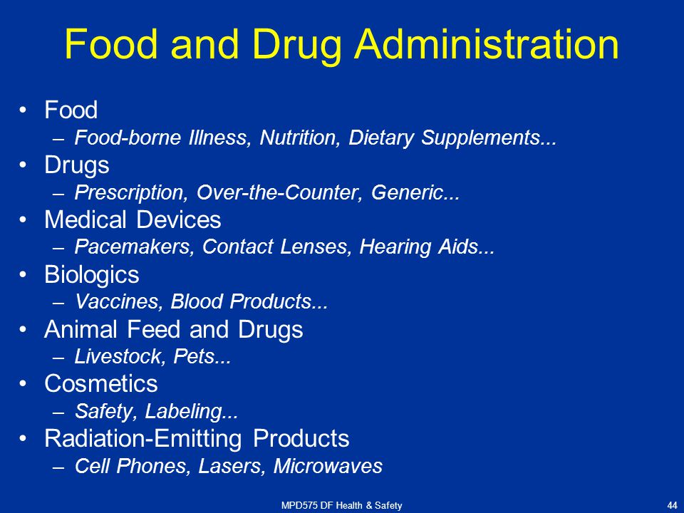 food and drug administration and drugs The fda is responsible for protecting the public health by assuring the safety, efficacy, and security of human and veterinary drugs, biological products, me.
