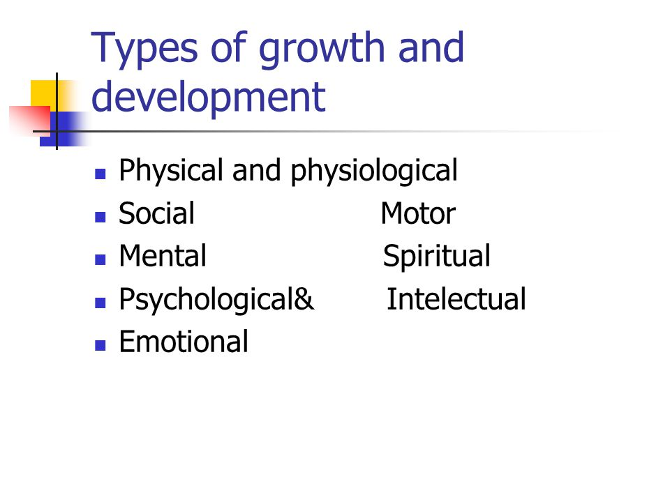 4 Major Aspects of Human Growth and Development