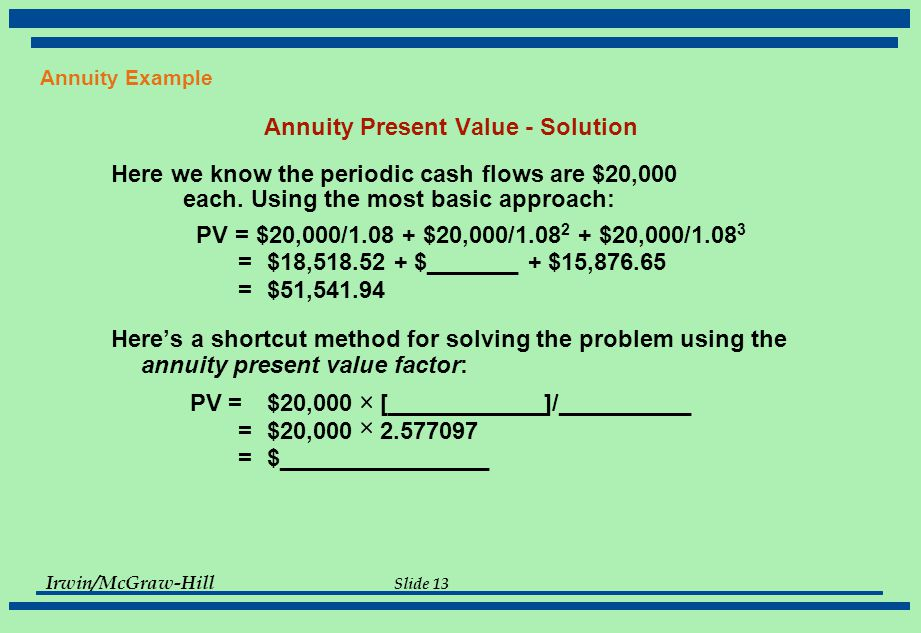 annuity problems and solutions pdf