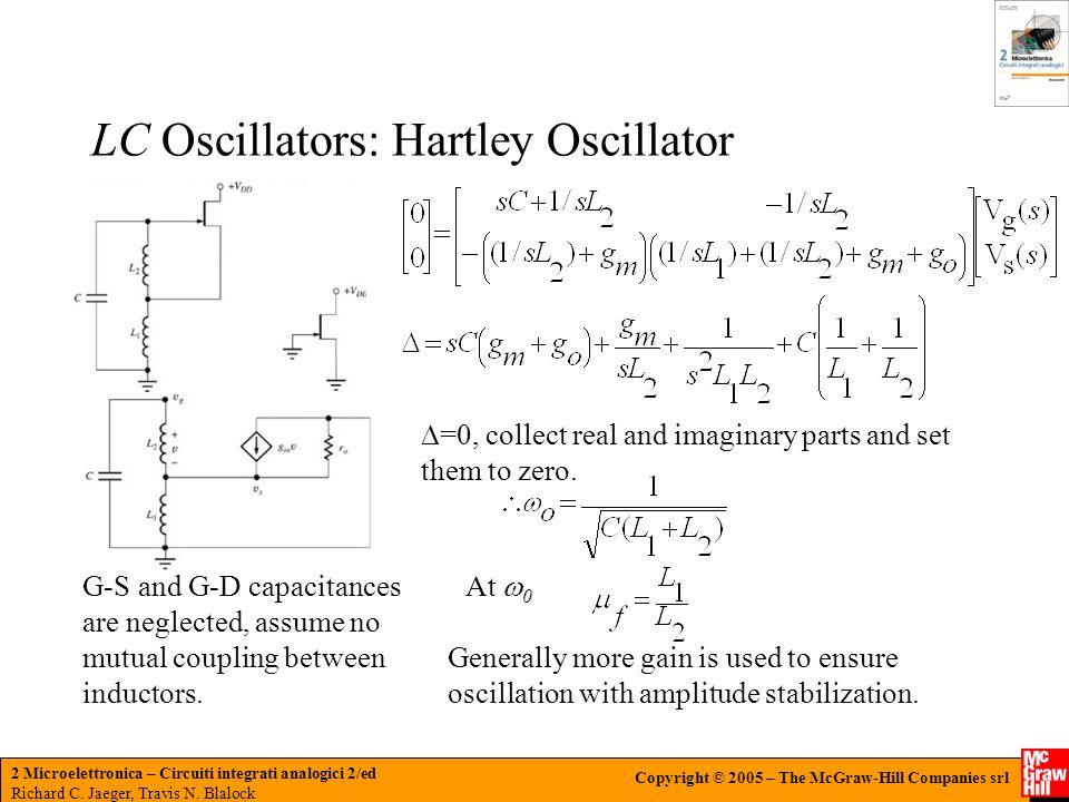 LC Oscillators: Hartley Oscillator