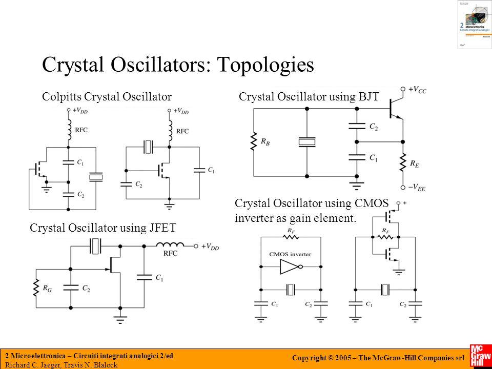 Crystal Oscillators: Topologies