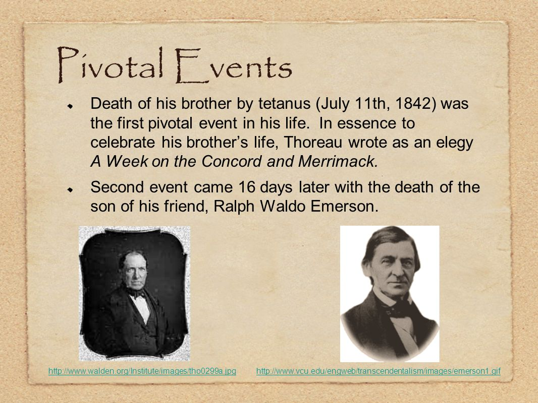 Pivotal Events