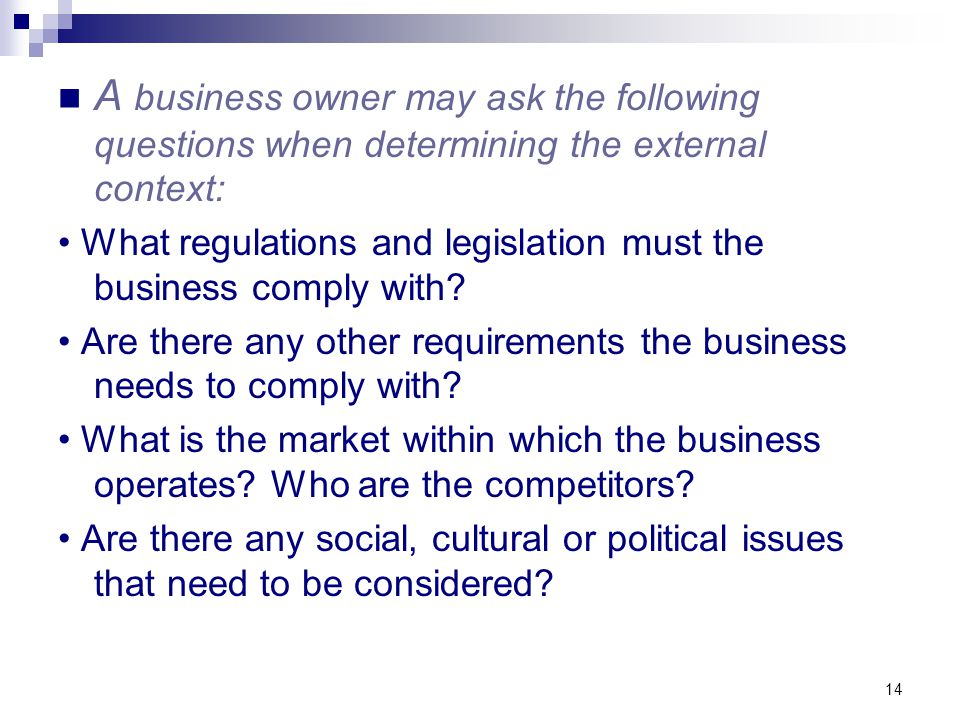 questions to ask a business owner