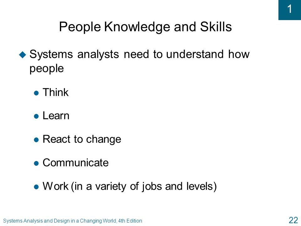 an analysis of skills and knowledge How can the answer be improved.