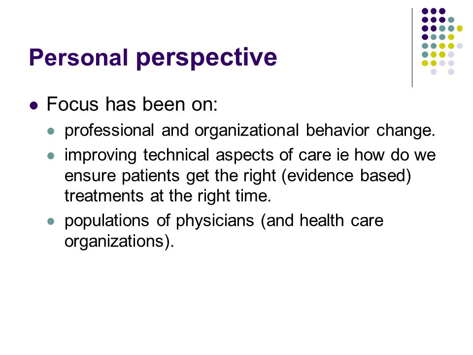 Personal health behavior change essay