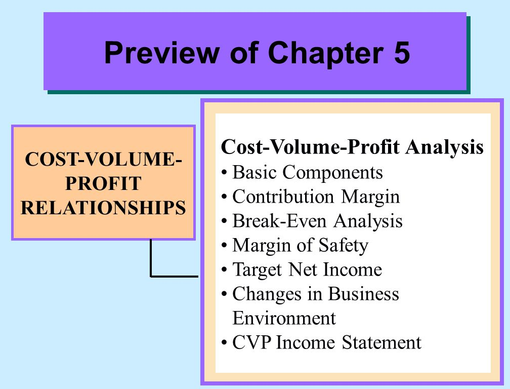 cost volume profit analysis cvp analysis Cost–volume–profit (cvp) analysis is a model to analyze the behaviour of net income in response to changes in total revenue, total costs, or both in reality .
