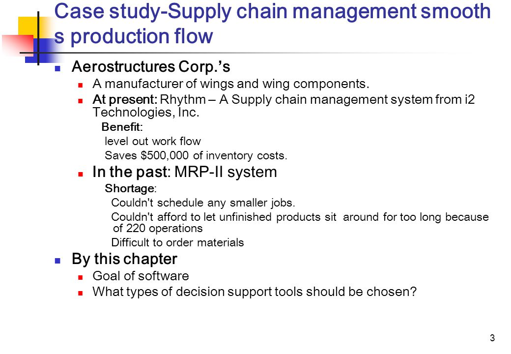 Production and Operations Management Case Study Help - Case Solution & Analysis