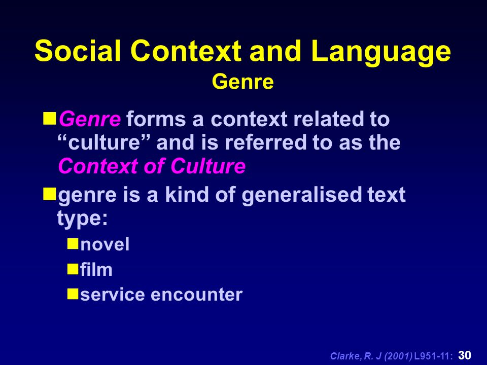 language and social context Context and culture in language teaching and learning is a topic that has   partly in response to the recognition of the social and political significance of.