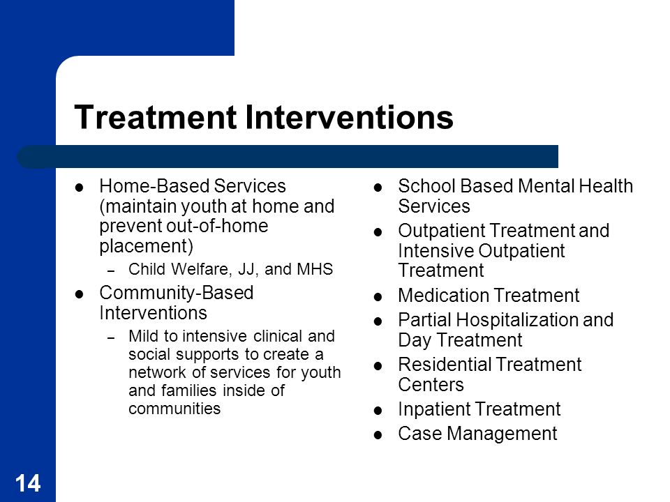 Treatment Interventions