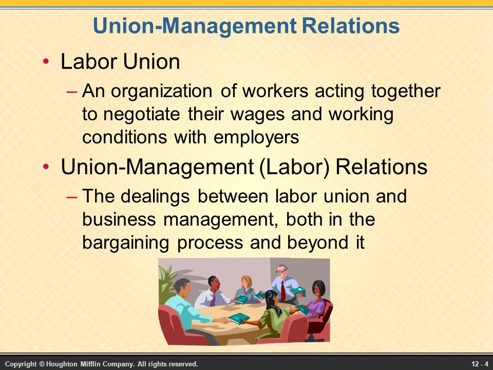 Enhancing Union-Management Relations - ppt download
