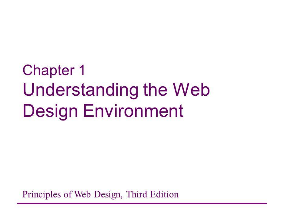 Chapter 1 Understanding The Web Design Environment Ppt Video Online Download