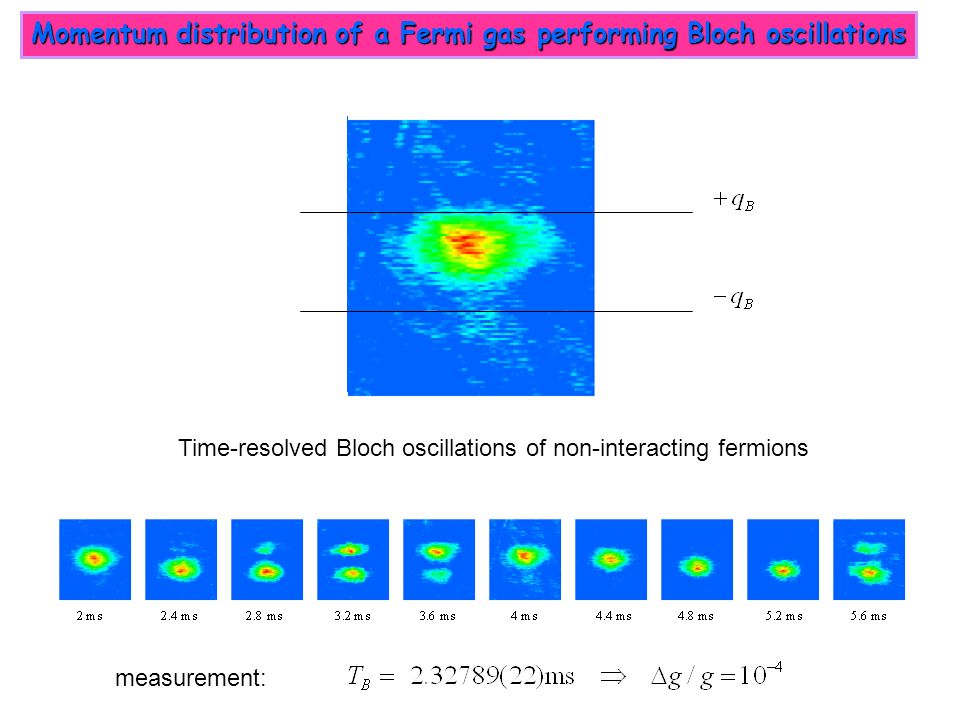 Momentum distribution of a Fermi gas performing Bloch oscillations