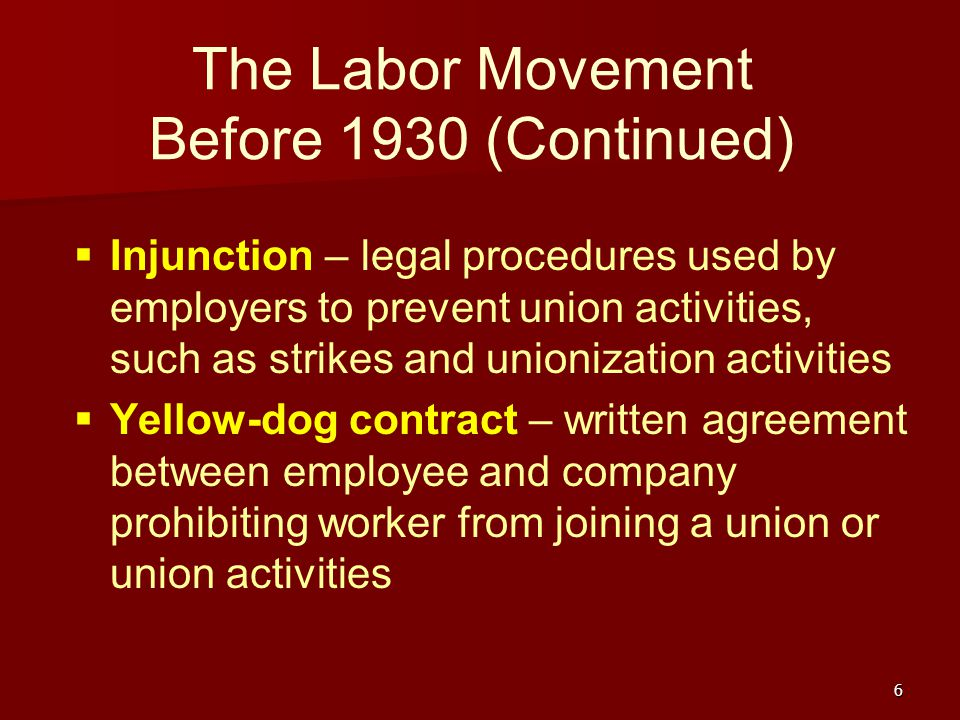 the evolution of labor unions The evolution of organized crime and labor racketeering corruption the evolution of organized crime  federation and a maritime labor union additionally,.