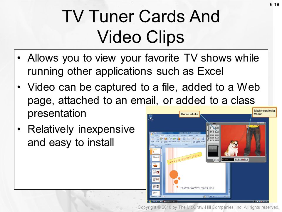 TV Tuner Cards And Video Clips