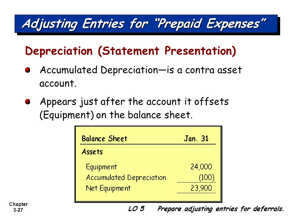 Examples of Accounting Deferrals