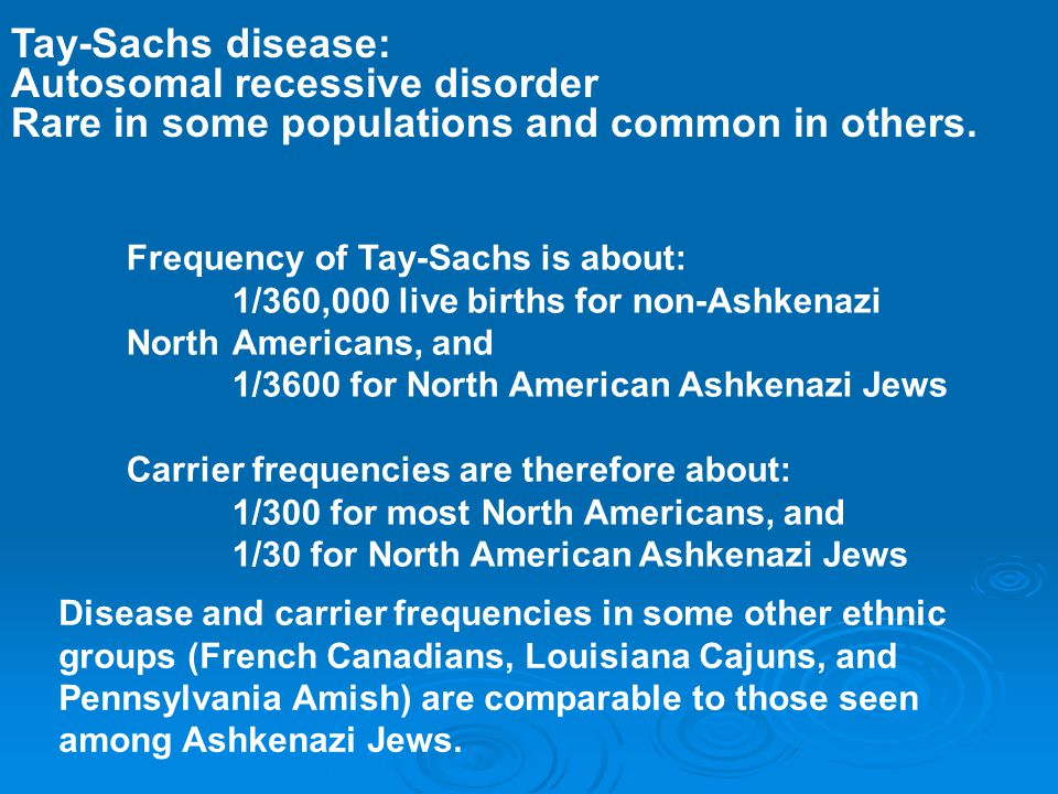 the genetics of the krabbe disease an autosomal recessive disorder To have an autosomal recessive disorder, you inherit two mutated genes, one from each parent these disorders are usually passed on by two carriers.