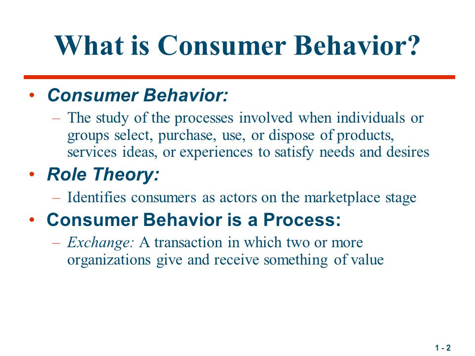 what is customer behaviour Saylor url: saylororg 1 chapter 3 consumer behavior: how people make buying decisions why do you buy the things you do.