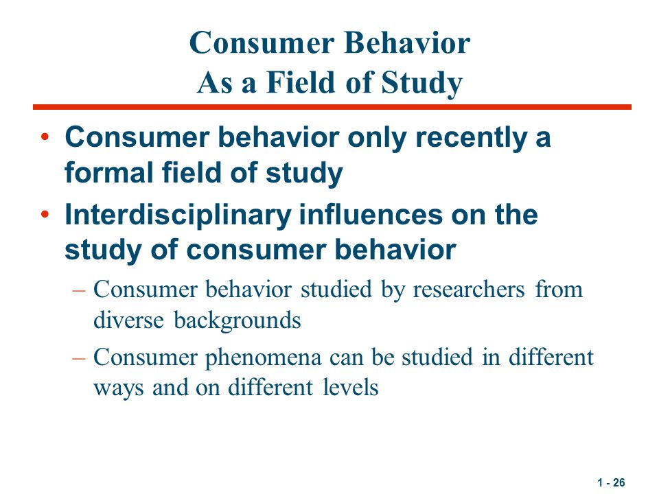 consumer behavior studies Consumer behavior and purchase intention for organic food: a review and  we  extract findings from various studies conducted in different countries and.
