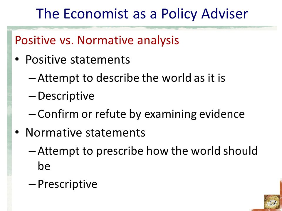 descriptive vs normative statements Best answer: descriptive ethics, also known as comparative ethics, is the study of people's beliefs about morality it contrasts with prescriptive or normative.
