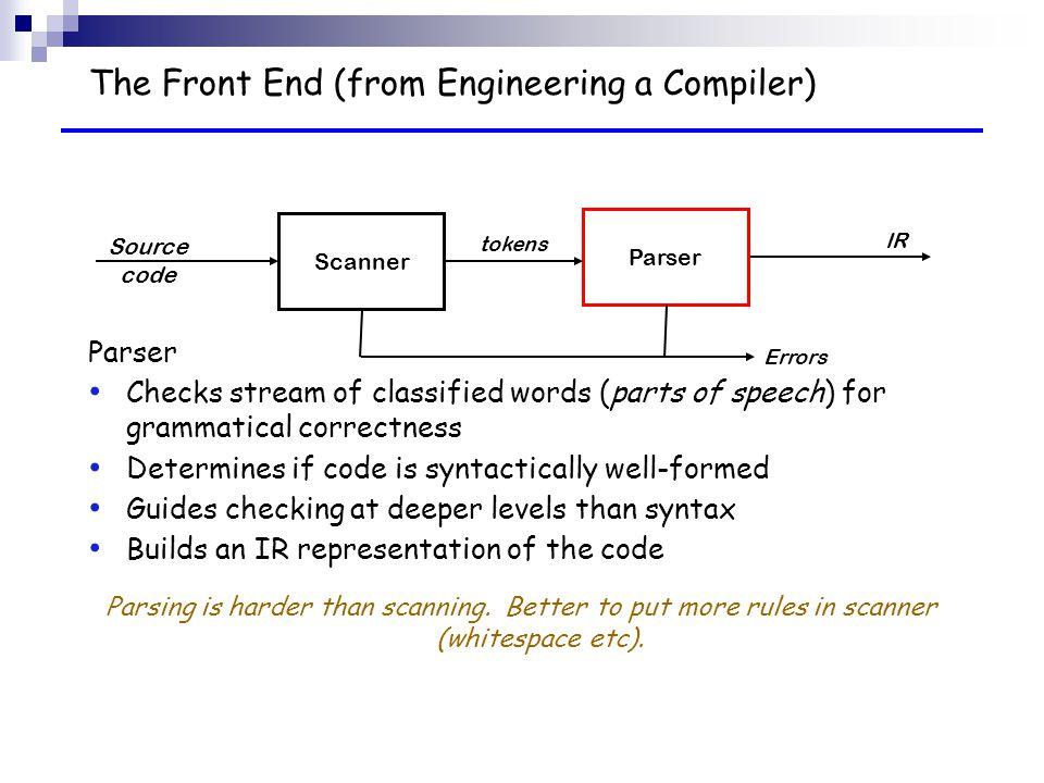 A Bison Parser Compiler Tools Lex/Yac...