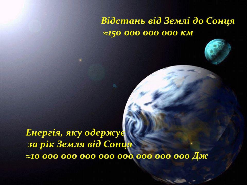 Відстань від Землі до Сонця