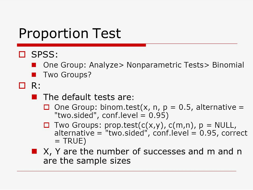 Student's t statistic Use Test for equality of two means - ppt ...