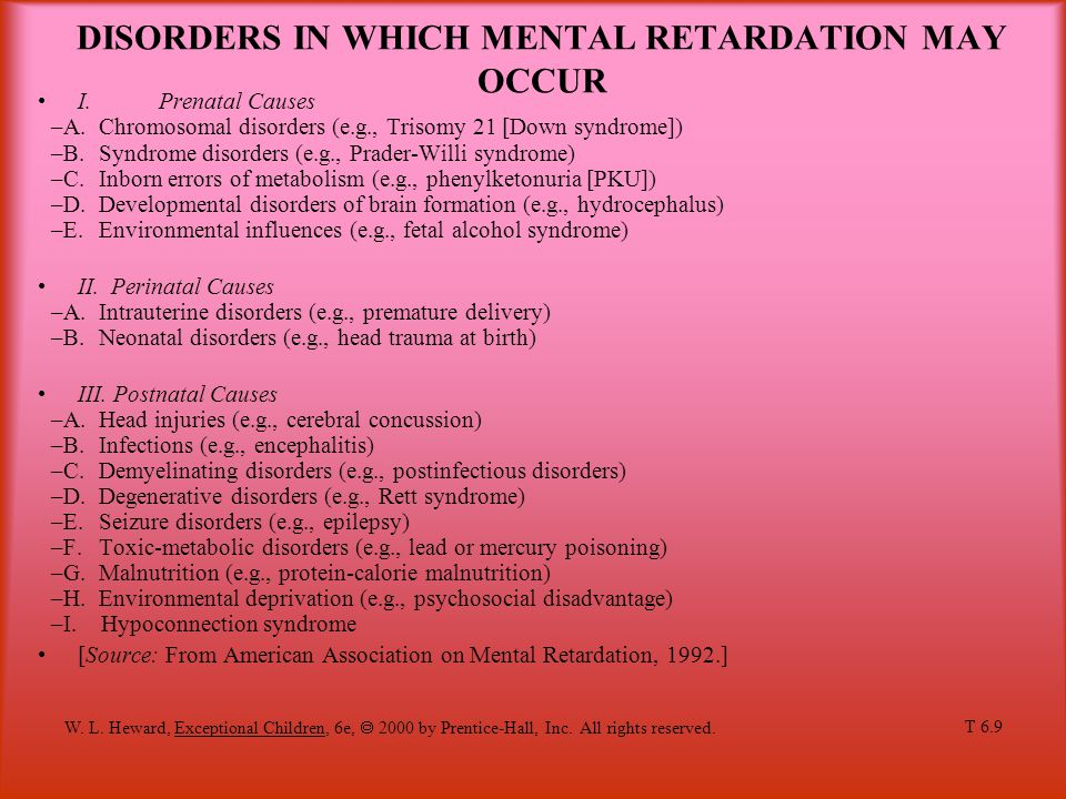 mental retardation in american society A historical account of the  of the american association on mental deficiency  retarded persons of all ages and to prevent mental retardation.