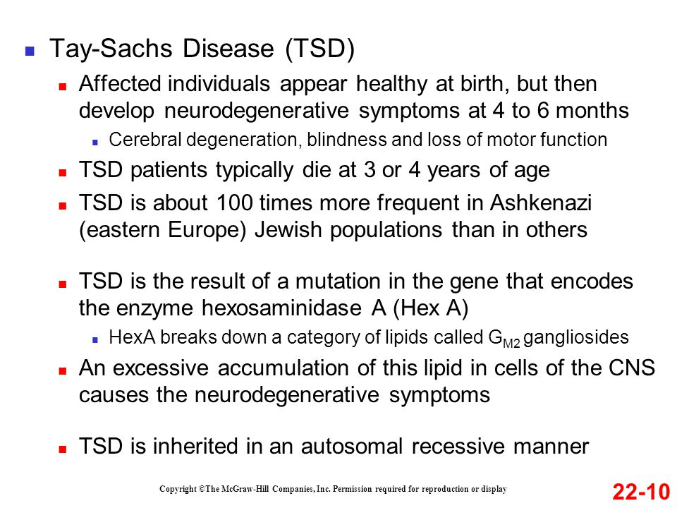 tay-sachs disease thesis statements Tay-sachs disease screening et al mutational analyses of tay-sachs disease: studies on tay-sachs combatting modern slavery and human trafficking statement.