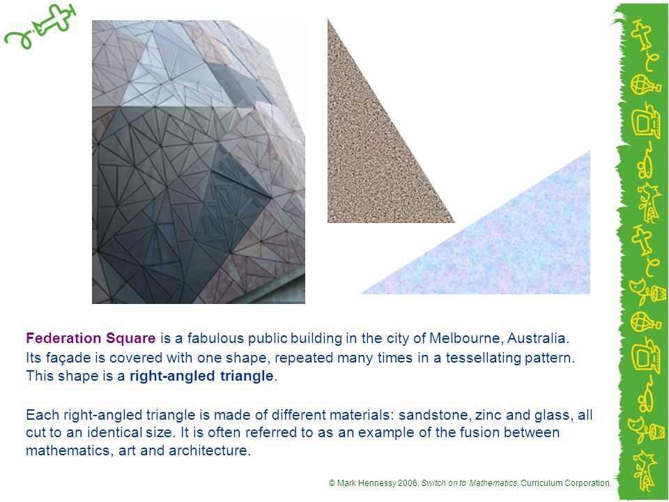 Federation Square is a fabulous public building in the city of Melbourne, Australia.