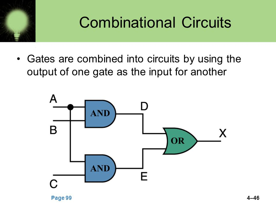 Combinational Circuits