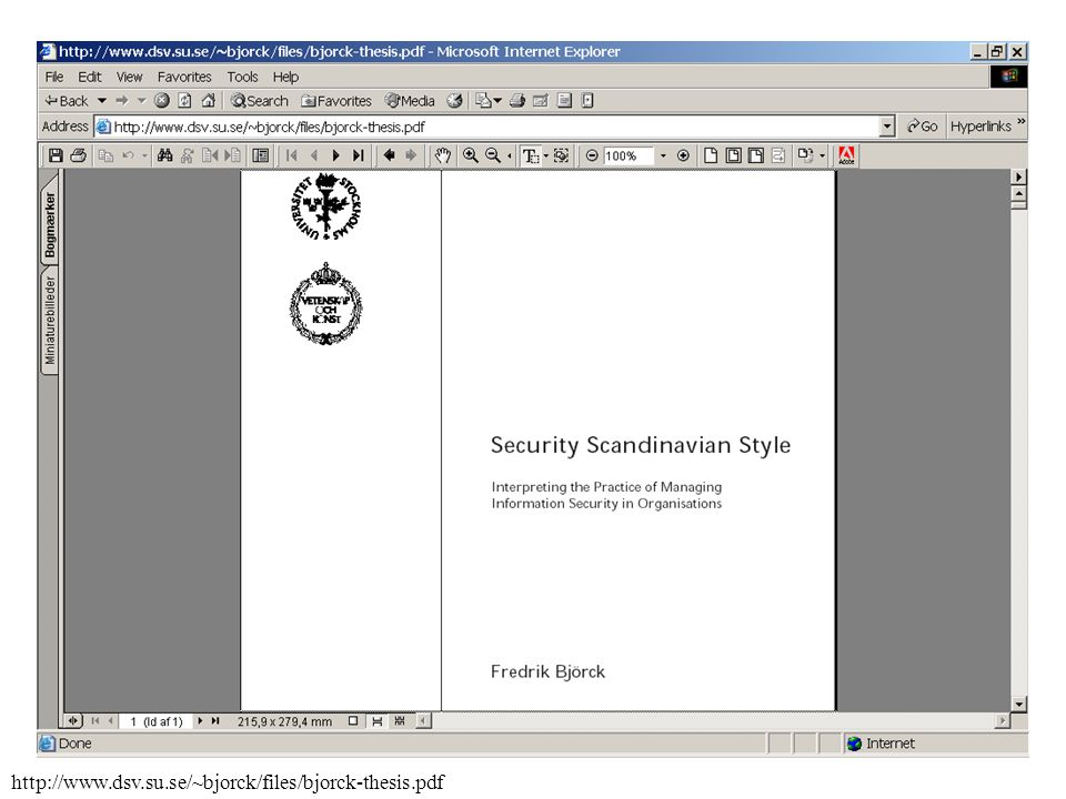 bs7799 thesis This thesis is the result of many months of hard work which i could not have  bs7799 - systrust - asl - prince2 - sox figure 6: matching.