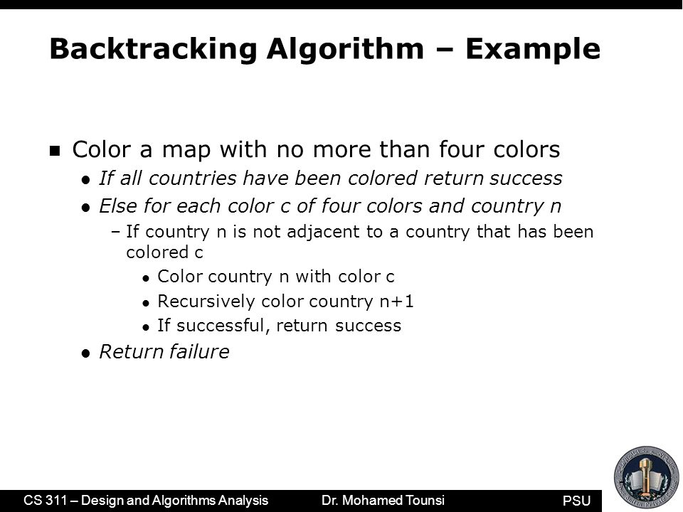 backtracking ppt video online download graph coloring using backtracking example ppt Guitar Backtracking