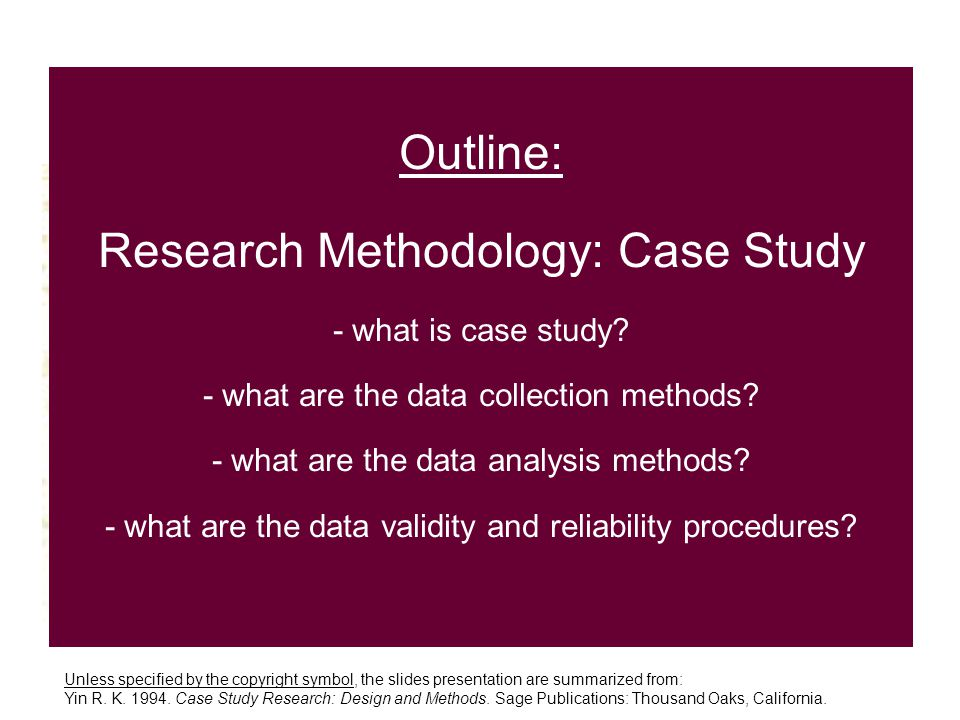 case study research methodology Exploratory case studies aim to find answers to the questions of 'what' or 'who' exploratory case study data collection method is often accompanied by.