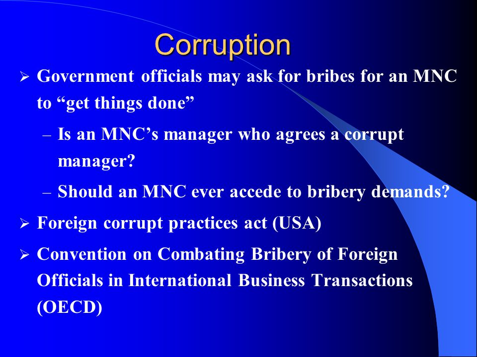 how to get rid of a corrupt government