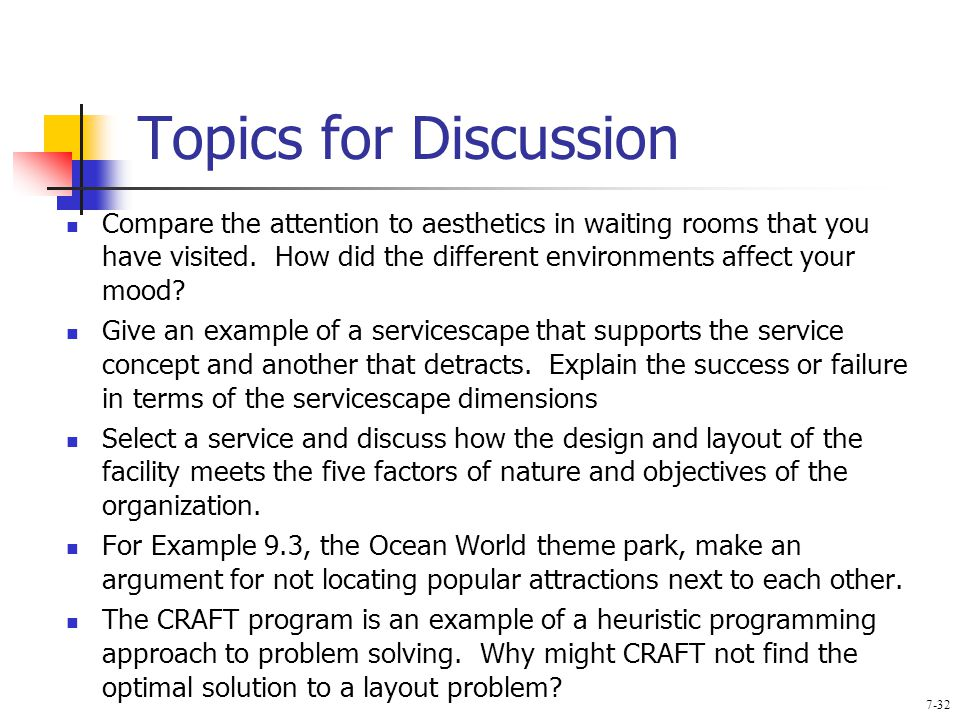 give an example of a servicescape that supports the service concept and an example that detracts fro Service environment: termed the 'servicescape' by bitner (1992) in the marketing   the environmental stimuli can provide a fuller framework for understanding and   examined along with the concepts of customer satisfaction, customer loyalty,  service  example a visit to a retail store, customers approach with certain.