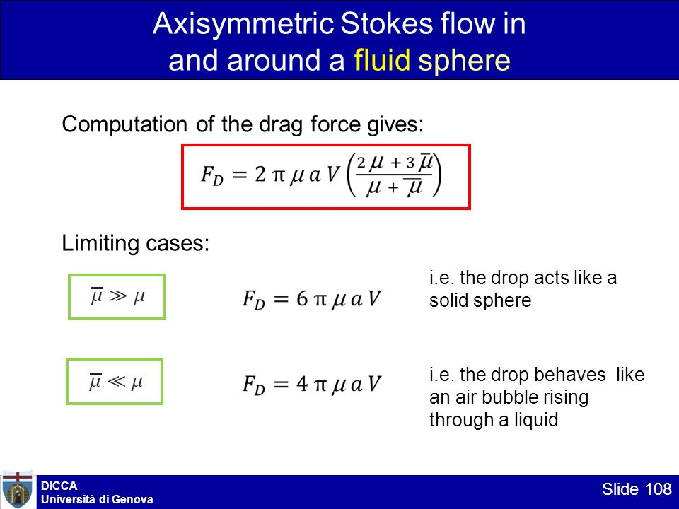 Axisymmetric Stokes flow in and around a fluid sphere