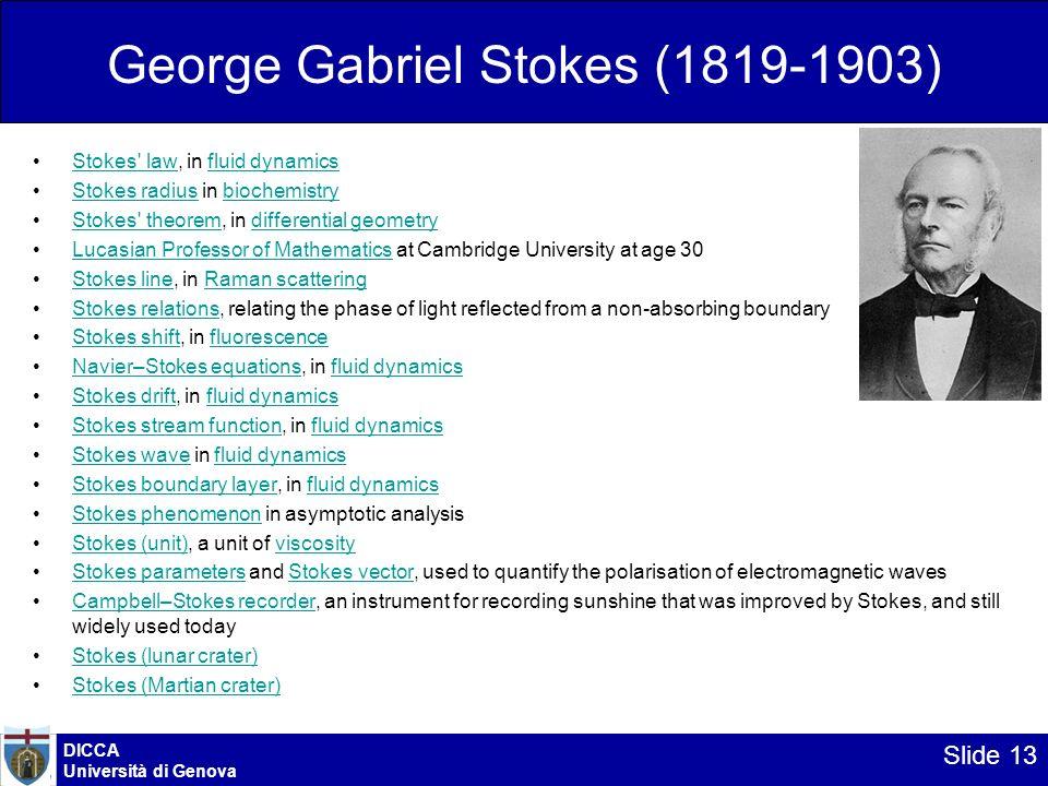 George Gabriel Stokes (1819-1903)