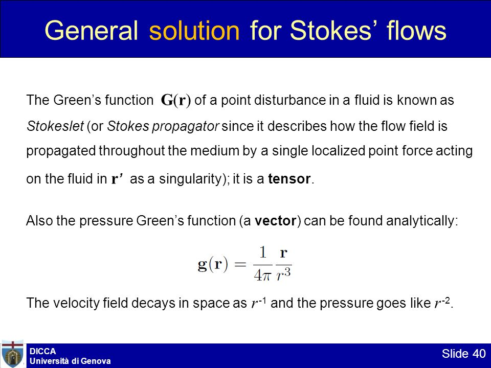 General solution for Stokes' flows