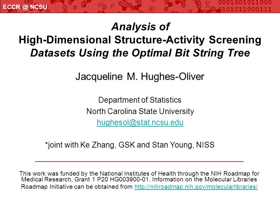 Analysis of High-Dimensional Structure-Activity Screening Datasets Using the Optimal Bit String Tree