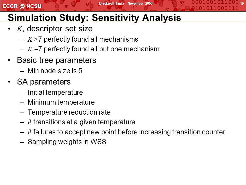 Simulation Study: Sensitivity Analysis