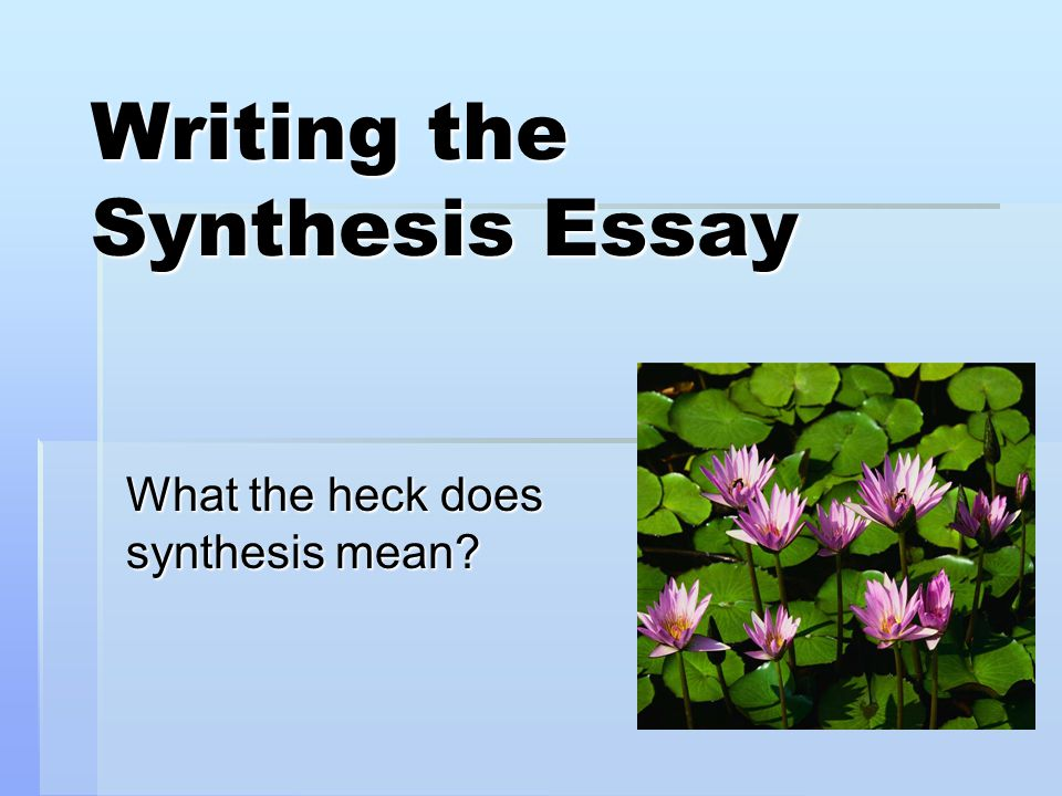 what does a synthesis essay consist of A term paper is a major assignment given to the student at the end of a course, and its success is crucially important for a student to obtain.