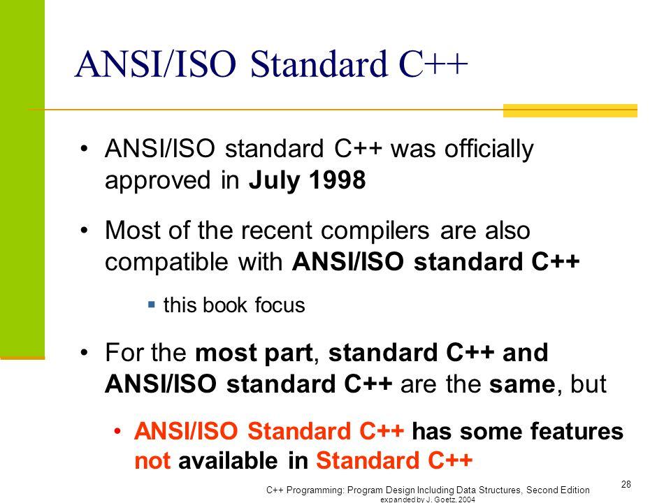 C Programming Program Design Including Ppt Download