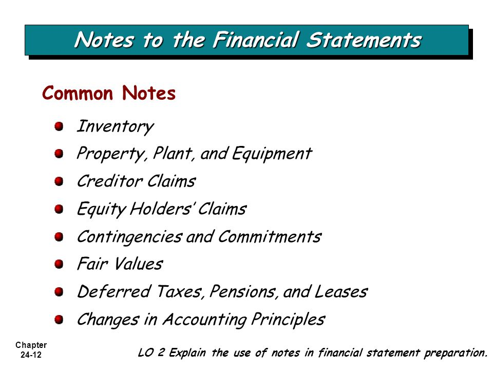 reporting contingencies and the financial statement Auditors' reporting options and client disclosure  loss contingencies in the financial statement notes  of change in financial reporting.