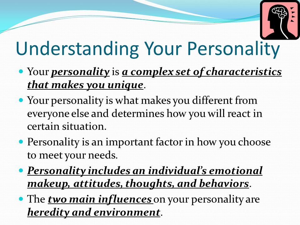 Understanding Your Personality