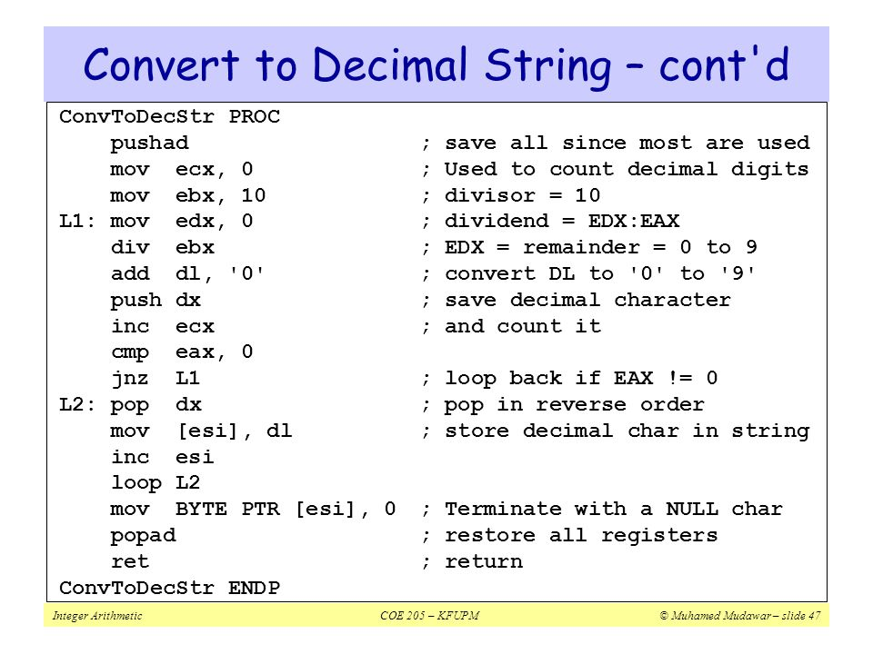 cmp instruction in assembly language