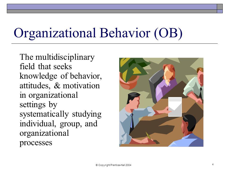 motivation and organisational behavior Motivation edu 516b human resource management & organizational behavior luzviminda n pingol motivation it is a process which starts with a physiological or psychological deficiency or.