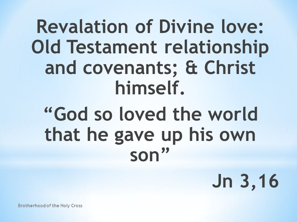old testament definition of covenant relationship