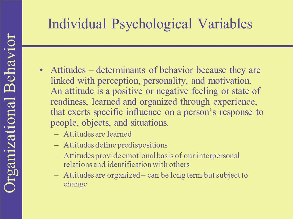 motivation personality perception attitude Motivation, personality and perception belong to the list of central themes in the area of consumer behaviour maslow's hierarchy of needs (1943) is one of the most significant theoretical frameworks in the area of human motivation and this theory relates to the study of consumer behaviour in a.
