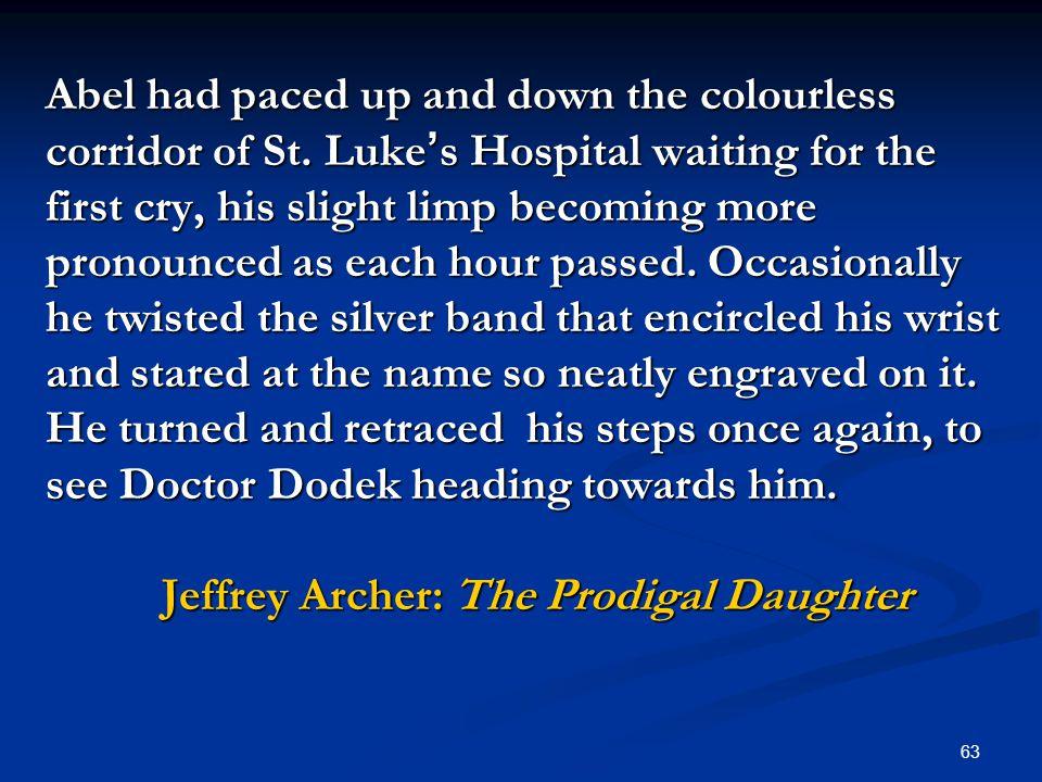 jeffrey archer the prodigal daughter pdf download