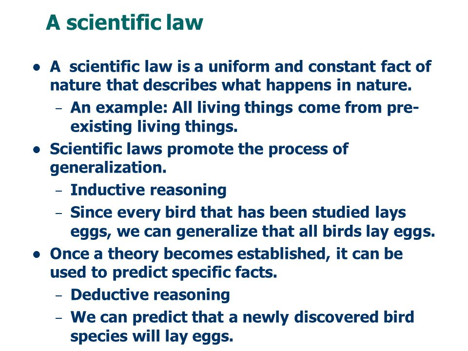 Scientific Law Examples 2018 Images Pictures Oa 1 1 Define